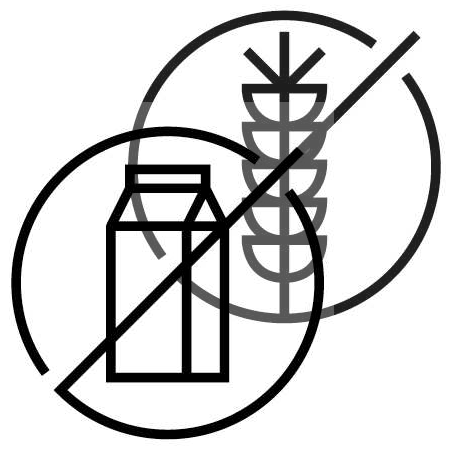 Gluten and diary free logo